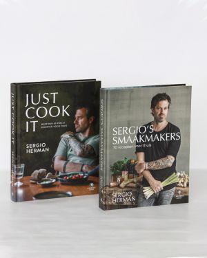 Pakket van 2 kookboeken Sergio Herman
