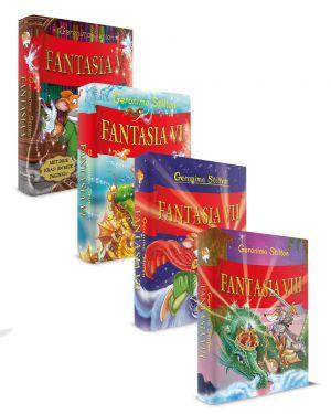 Pakket Fantasia V - VIII, Geronimo stilton