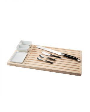 Borrel- en broodplank met accessoires Laguiole Style de Vie