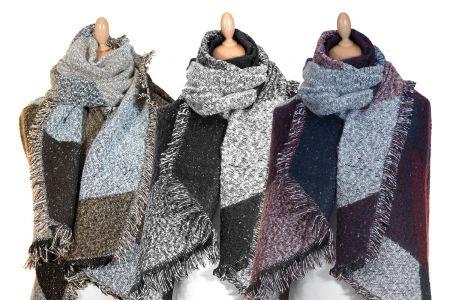 Oversized luxe- sjaal