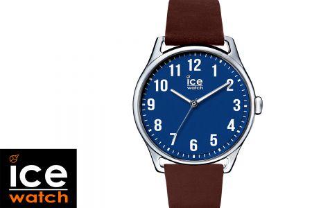 Horloge ICE Watch - Bruin/blauw