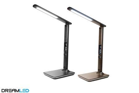 Led-bureaulamp lederlook