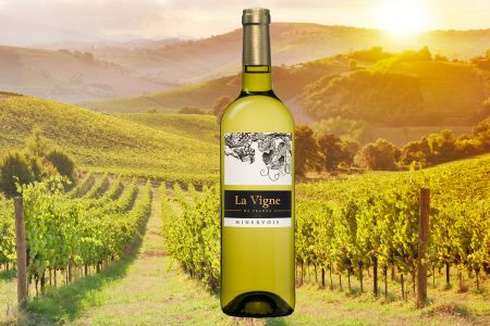 La Vigne de France Minervois AOC Blanc - Frankrijk