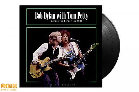 Lp vinyl Bob Dylan with Tom Petty - Across the borderline