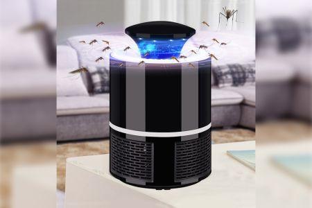 Muggenval met led-lampen