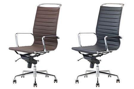 Bureaustoelen hoge rugleuning