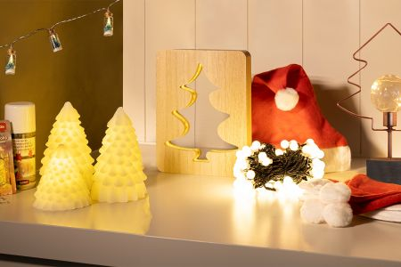 8-delig pakket kerstdecoratie