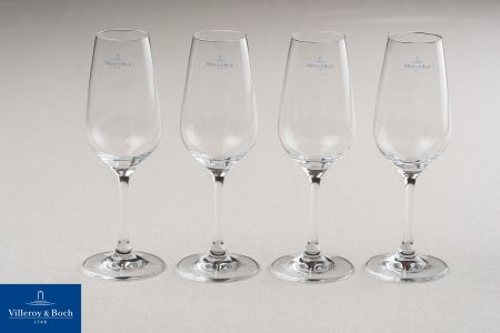 Set van 4 champagneglazen - Villeroy & Boch