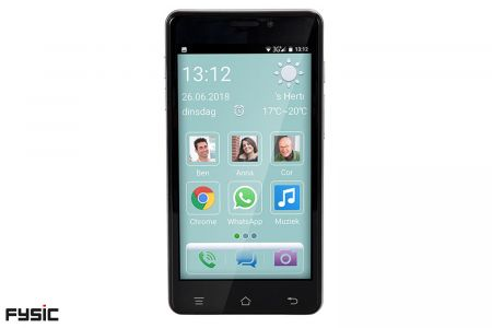 Smartphone voor senioren + gratis screenprotectors