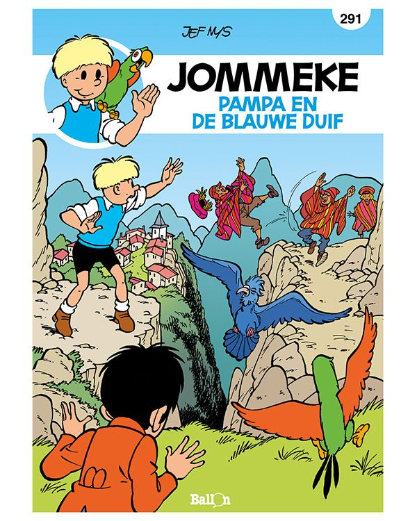 Pampa en de blauwe duif