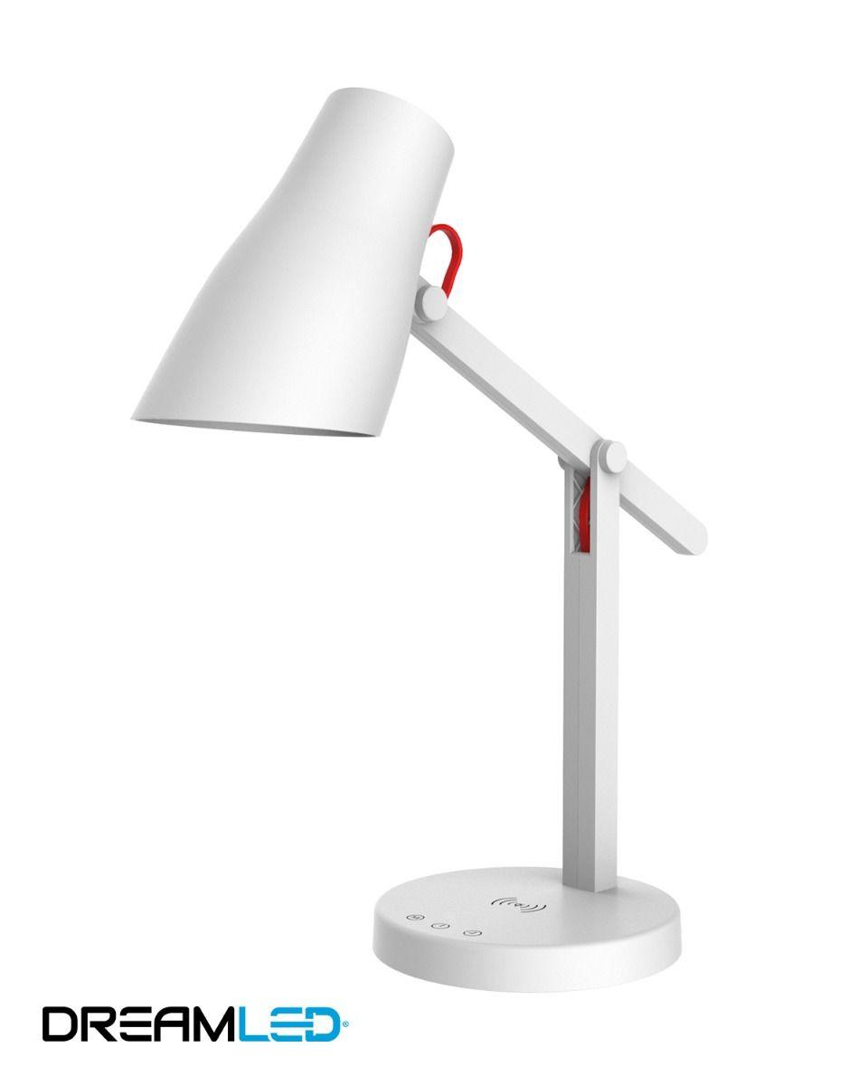 Led-bureaulamp - wit