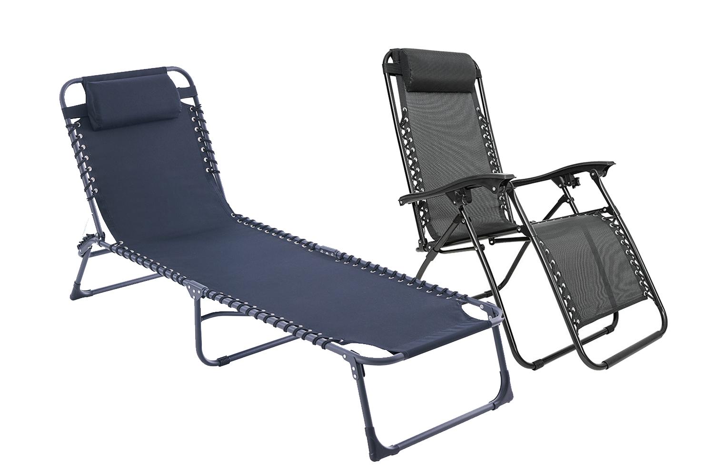 Ligbed en ligstoel